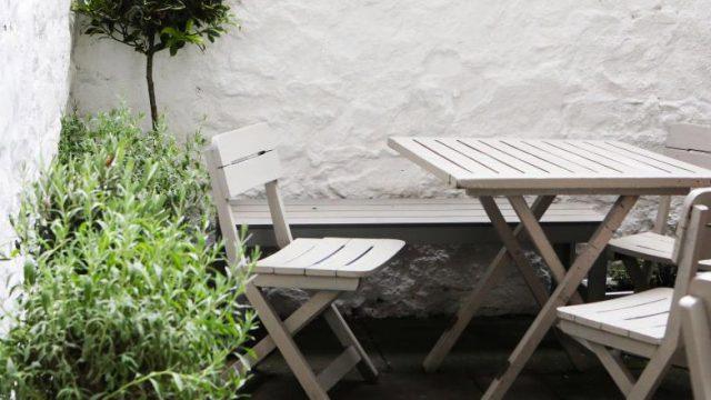 Aménagement de terrasse extérieure